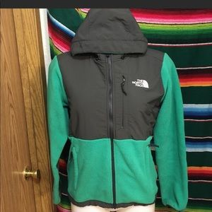The North Face Denali jacket with hood